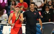 Kiều nữ Bencic bị đồng nghiệp ghen tỵ vì Federer