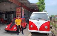 Học sinh cấp 3 Nam Định lắp ráp thành công xe ô tô năng lượng mặt trời