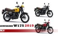 Kawasaki trình làng W175 Cafe 2019 mang phong cách hoàn toàn mới