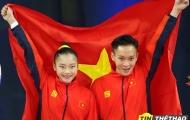 Tuyển Aerobic Việt Nam lập 'hat-trick' HCV ở SEA Games 30