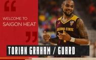 Chính thức! Saigon Heat công bố ngoại binh mới, cựu tay ném Utah Jazz