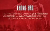 Chính thức! Saigon Heat điều chỉnh lịch thi đấu vì virus Corona