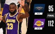 Kết quả NBA 16/1: Lakers khẳng định sức mạnh, Clippers chiến thắng 'huỷ diệt'