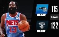 Kết quả NBA 17/1: Harden ra mắt ấn tượng, Rockets tiếp tục chìm sâu