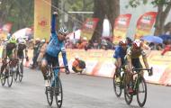 Chặng 5 giải xe đạp Cúp truyền hình TPHCM 2021: Chiến thắng ngoạn mục của ngoại binh Loic Desriac