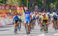 Chặng 12 giải xe đạp Cúp truyền hình TPHCM 2021: Nguyễn Tấn Hoài đào sâu cách biệt ở giải áo xanh
