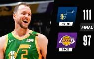 Kết quả NBA 20/4: Curry 'quá cháy', Lakers gục ngã