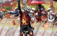 Chặng 15 giải xe đạp Cúp truyền hình TPHCM 2021: Êkip mặc áo lính lần thứ hai giành chiến thắng