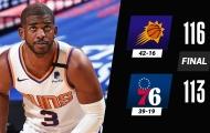 Kết quả NBA 22/4: Nets gục ngã, 76ers thất bại trước 'Phượng hoàng'