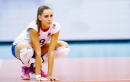 Vẻ đẹp nữ VĐV bóng chuyền cao 1,96 m tại Olympic Tokyo