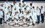 Chùm ảnh: Tuyển Mỹ đăng quang ở Olympic Tokyo