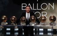 Messi có bao nhiêu Quả bóng vàng?