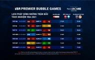 Lịch phát sóng tuần 3 VBA Premier Bubble Games 2021
