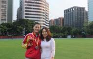 Lê Tú Chinh phá kỷ lục cá nhân, vượt HCV 100 m SEA Games