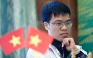 Quang Liêm đứng thứ sáu ở giải cờ quốc tế trên sân nhà