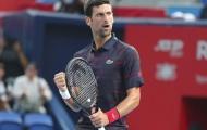 Đánh bại Lucas Pouille sau 51 phút, Novak Djokovic vào bán kết Japan Open