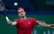 Shanghai Masters: Federer phục hận thành công, Andy Murray dừng bước ở vòng 2