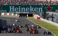 Mercedes vô địch, Hamilton hằn học trên bục podium
