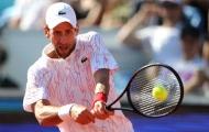 Djokovic bị loại ở giải đấu tự tổ chức