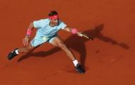 Nadal lần thứ 14 vào tứ kết Pháp mở rộng