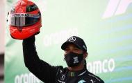 Hamilton cân bằng kỷ lục của Schumacher