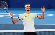Zverev lần đầu tiên giành HCV Olympic, Djokovic phát thèm