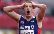 VĐV Na Uy phá kỷ lục Thế giới chạy 400m rào nam