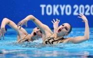 Vẻ đẹp của các nữ VĐV bơi nghệ thuật tại Olympic Tokyo