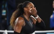 Điểm tin thể thao 26/4: Serena âu yếm cùng hôn phu; Sharapova đối mặt kẻ chỉ trích