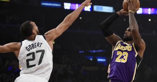 Lịch thi đấu NBA 25/2: Thượng đỉnh Lakers - Jazz