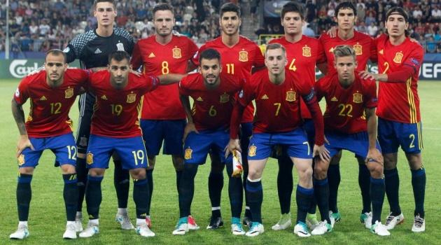 Dải ngân hà trị giá 620 triệu bảng của U21 Tây Ban Nha