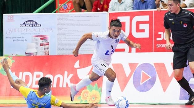 Lượt 15 giải futsal VĐQG - Thắng tuyệt đối S*S.KH, Thái Sơn Nam vô địch trước 3 vòng đấu