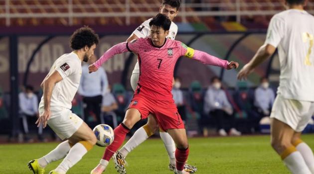 Son Heung-min ghi bàn phút 89, Hàn Quốc thắng nghẹt thở ở VL World Cup