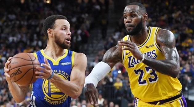 Lịch thi đấu NBA 19/1: Tâm điểm LA Lakers vs Golden State Warriors