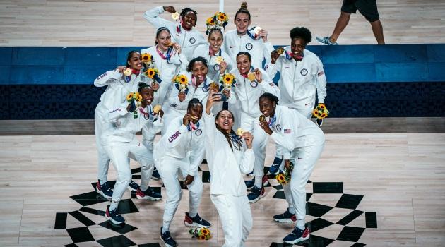 Chùm ảnh: Tuyển Mỹ khép lại kỳ Olympic Tokyo thành công