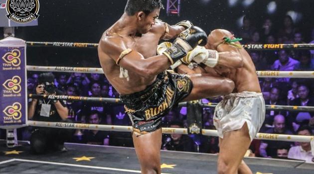 'Thánh Muay' Buakaw đánh bại nhà vô địch châu Âu trẻ hơn 15 tuổi